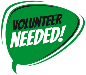 Volunteer needed graphic