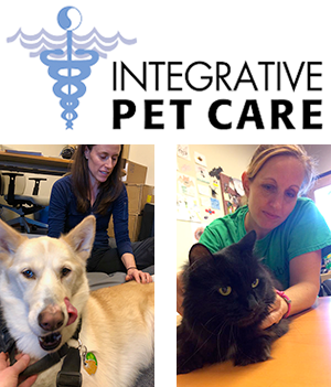 Integrative Pet Care logo and photos