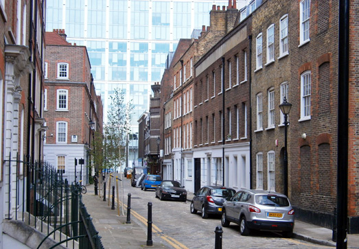 London's fantastic Spitalfields neighbourhood