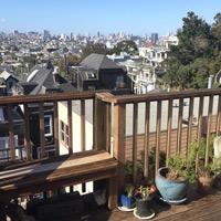 San Francisco duplex apartment