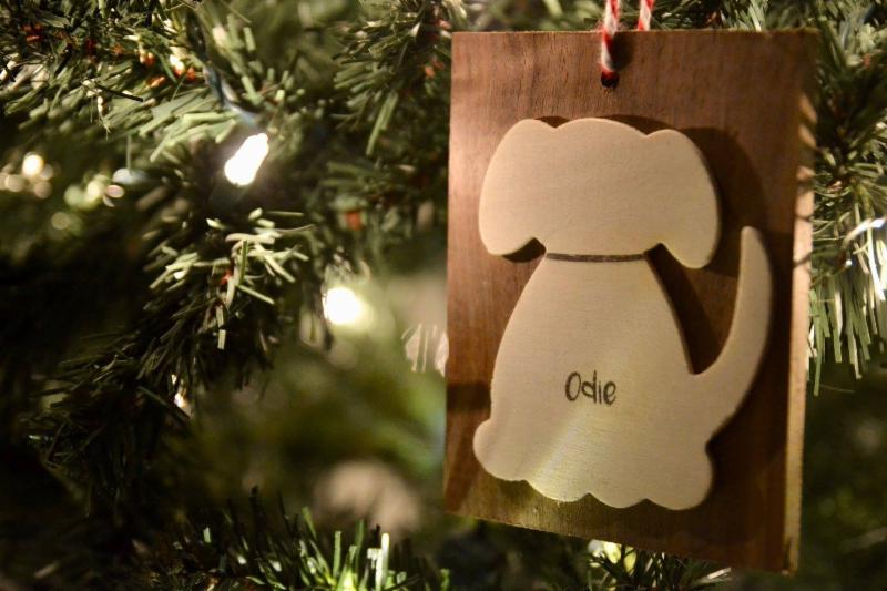Odie _ Board Ornament