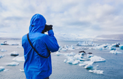photographer in arctic