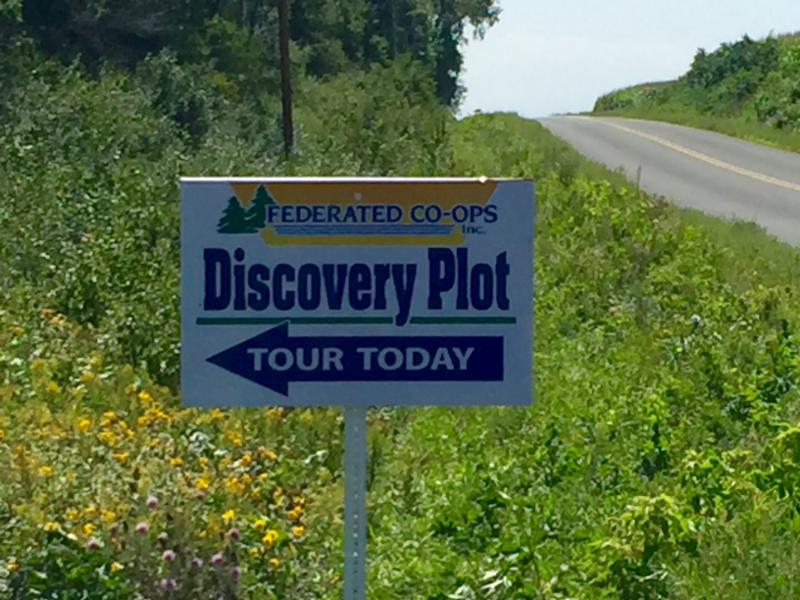 discovery plot tour today sign