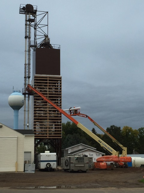 Ogilvie fertilizer tower