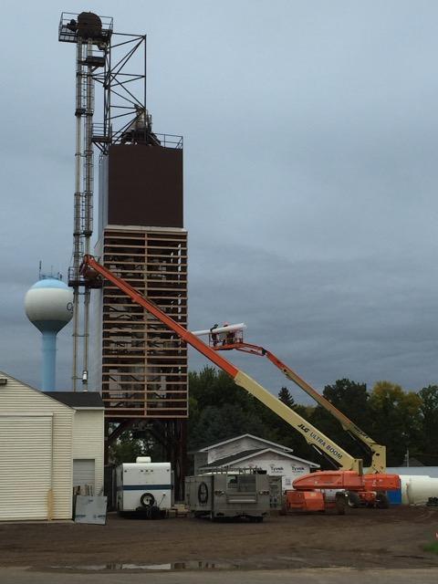 Ogilvie fertilizer tower