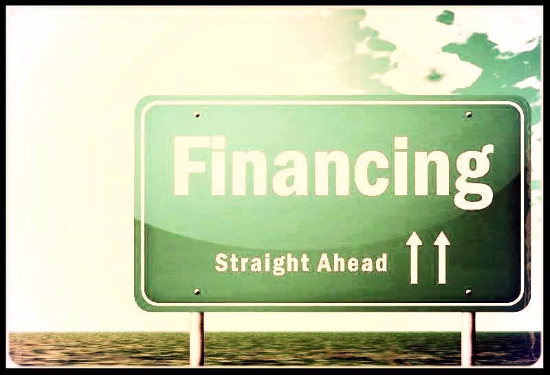 financing sign