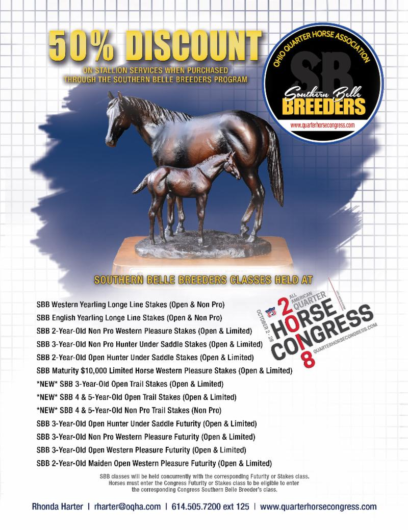 2018 quarter horse congress happenings   pleasurehorse