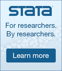 Harness the full power of Stata 15. See what's new for researchers in political science.