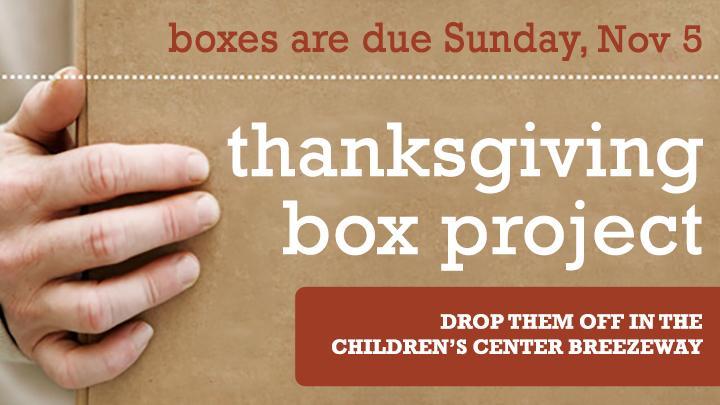 Thanksgiving Boxes