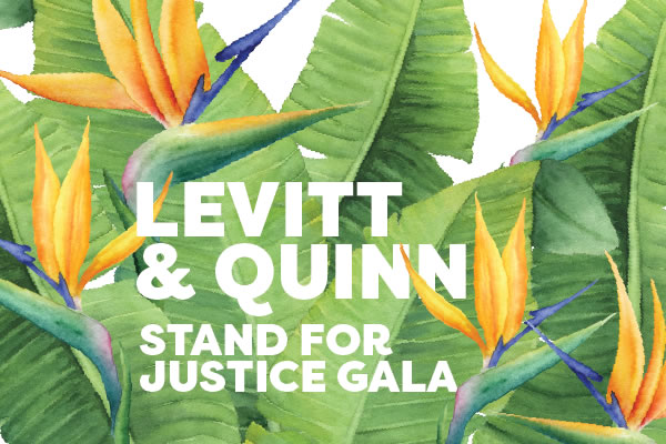 Levitt & Quinn Stand for Justice Gala 2017