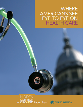 Where Americans See Eye to Eye on Health Care