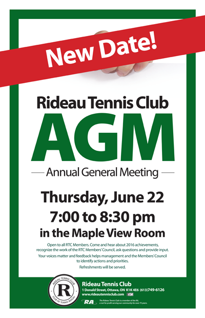 RTC AGM June 22, 2017