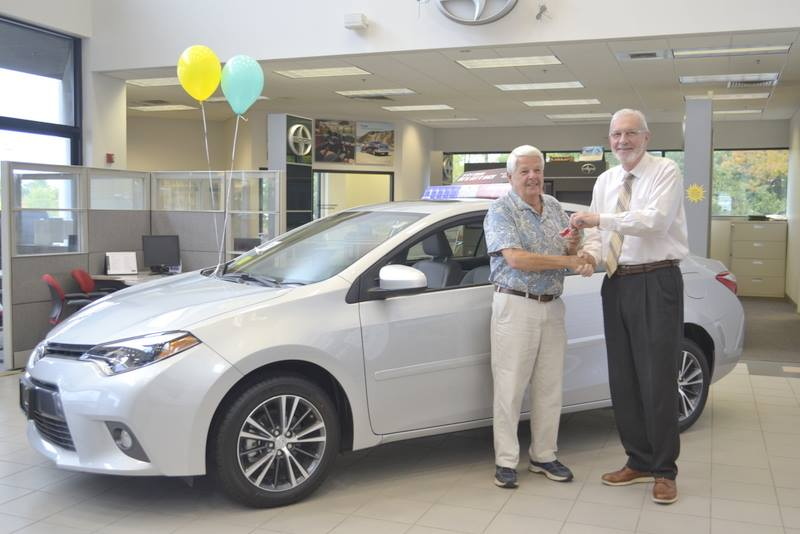Congratulations to Bob Cantara for winning a 2016 Toyota Corolla