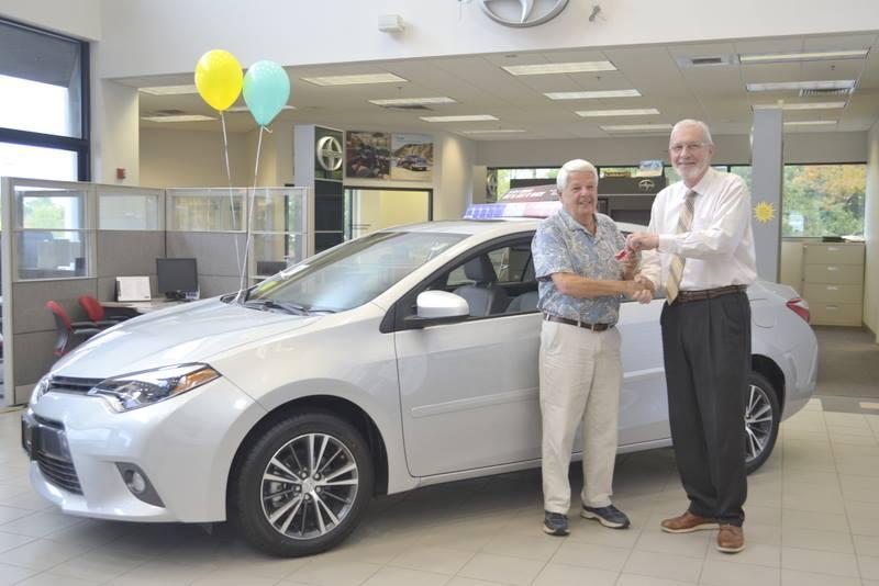 Congratulations to Bob Cantara for winning a 2016 Toyota Corolla