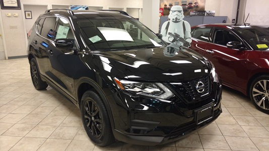 Visit us to see the very limited edition 2017 Nissan Rogue One_