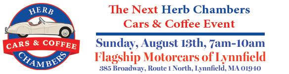 Join us for Cars _ Coffee in August