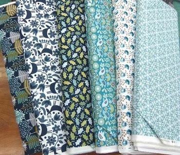 New fabric has arrived! Snow Forest by Dashwood Studio