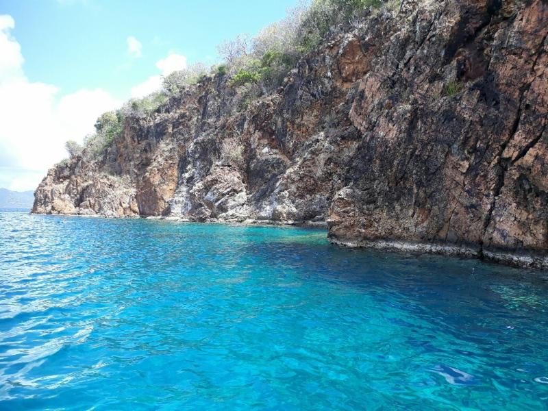 Snorkel time at The Caves BVI