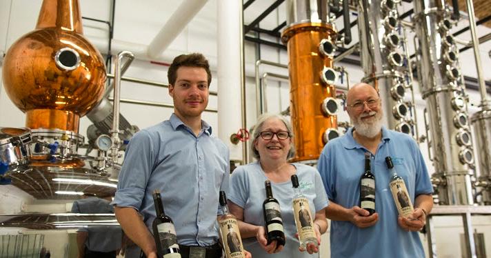 Team behind Hope Springs Distillery