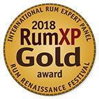 2018 Rum Renaissance Festival Gold medal award