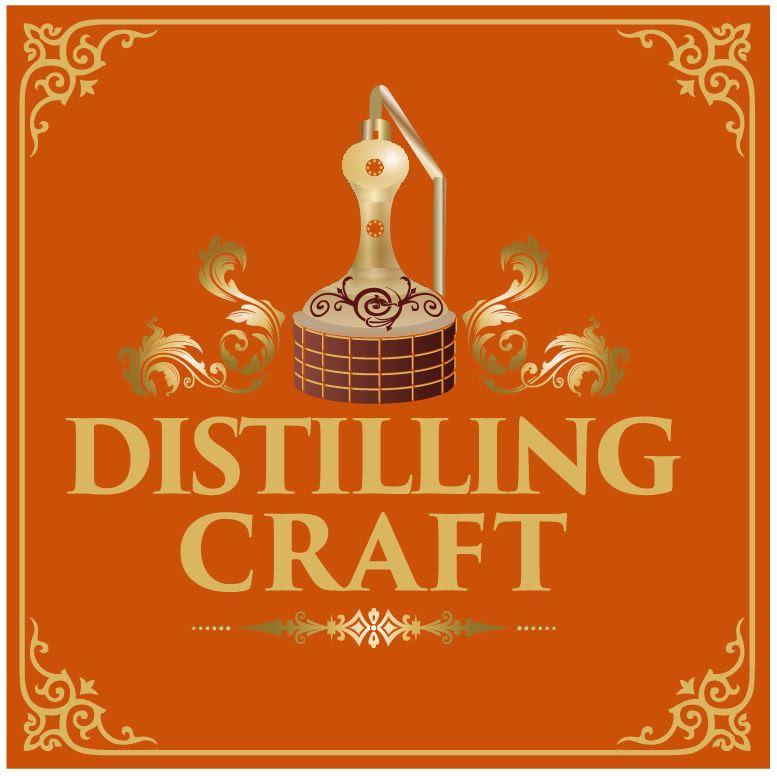 Distilling Craft pod cast logo