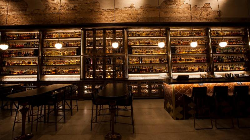 Whiskey Bar _ Museum in Tel Aviv.