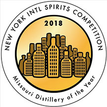 New York Int_l Spirits Competition - Missouri Distillery of the Year