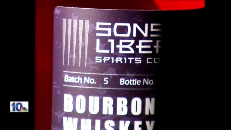 Sons of Liberty bourbon  label