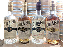 Roulaison Distilling Co spirits
