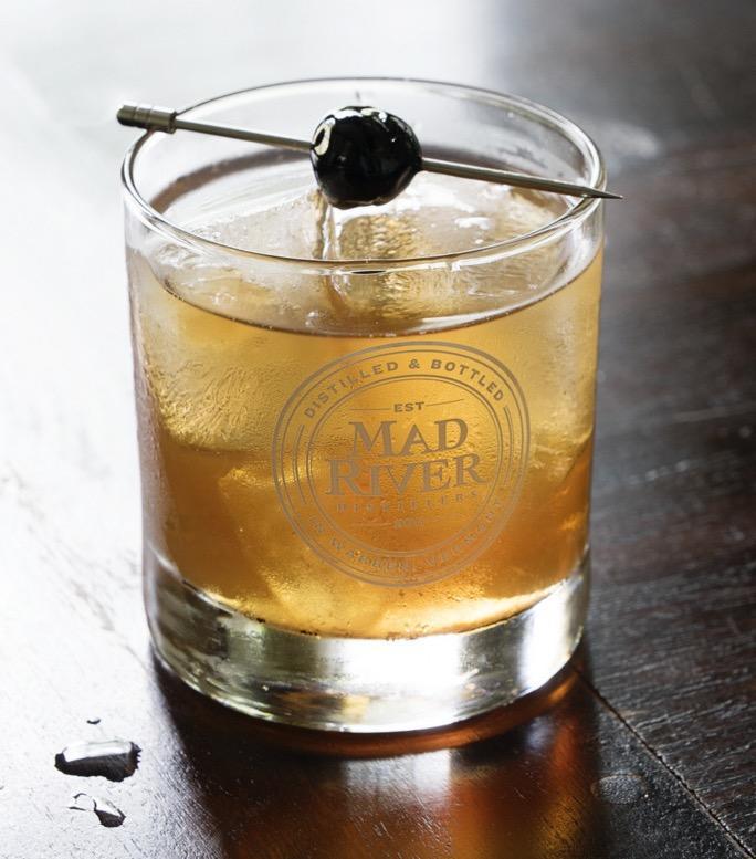 Mad River Distilling cocktail