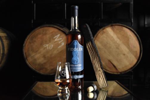 ASW Distillery_s Fiddler Bourbon using charred staves of Georgia white oak.