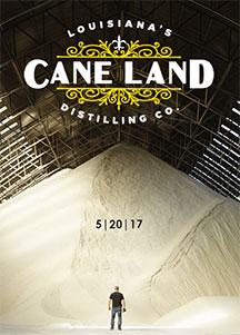 Cane Land Distilling Co. mountain of sugar