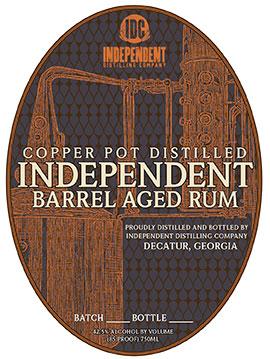 Independent Barrel Aged Rum