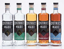 District Made line from One Eight Distilling