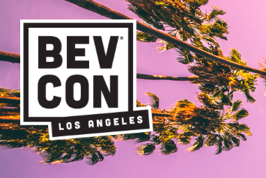 BevCon Los Angeles logo with palm trees