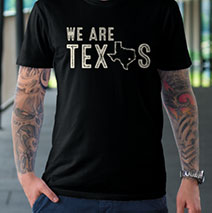 We are Texas T-shirt