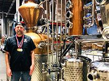 Brant Gasparek of SanTan Distilling
