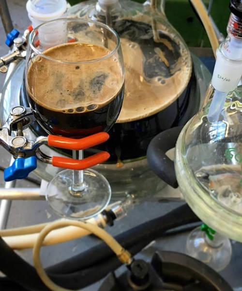 Kyrejko_s process allows liquid to boil at a much lower temperature. Photo credit_ Facebook.com_arcanedistilling