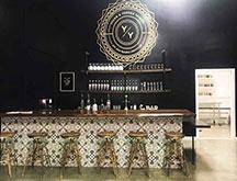 Tasting room bar at Young _ Yonder Spirits