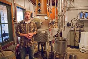Instructor James Whelan_ head distiller at McMenamin_s Edgefield Distillery