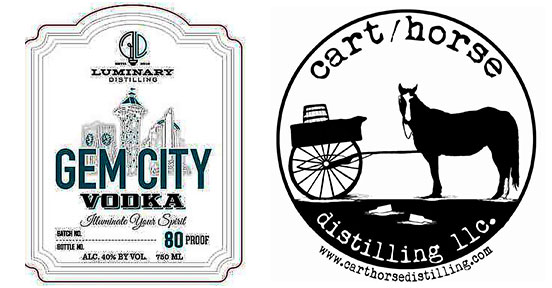 Luminary Distilling and cart_horse distilling