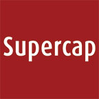 Supercap logo - red