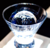 Proof Washington Distillers Festival_glass with ice sphere