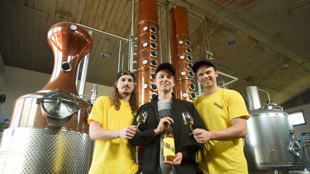 Willibald Farm Distillery founders