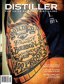 Cover of fall 2017 Distiller magazine