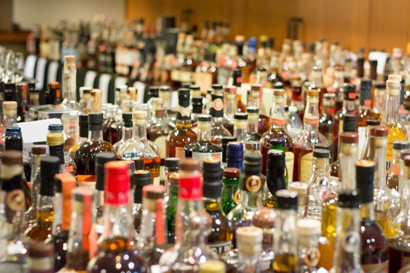 Bottles entered into the 2017 ADI Judging of Craft Spirits