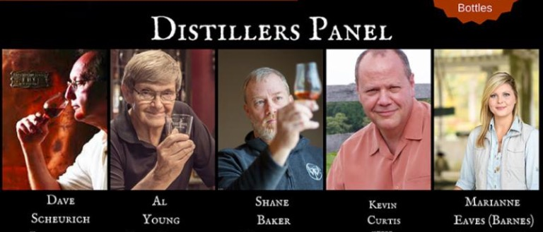 Distillers Panel at KY State BBQ Festival_