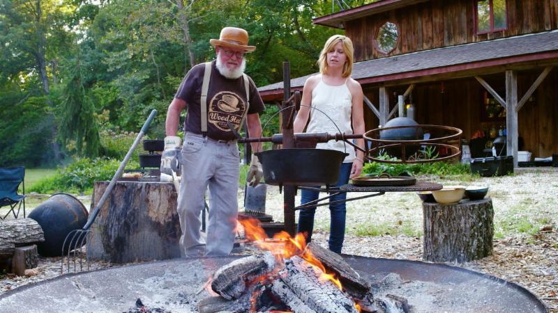 TV host Cat Neville visits Gary Hinegardner of Wood Hat Spirits.