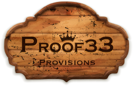 Proof 33 logo