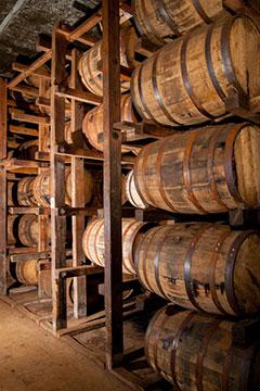 MGP Lawrenceburg Barrel Rack House